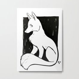 Husky Metal Print