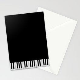 Piano Keyboard Stationery Cards
