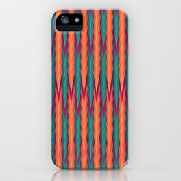 Knitting Flames iPhone Case