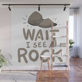 Geology - Wait I See A Rock Wall Mural