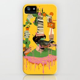 SURREAL KNOWLEDGE iPhone Case