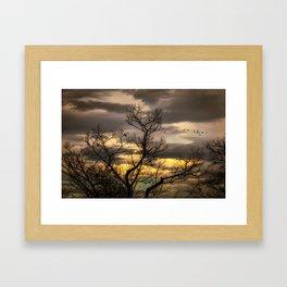 Autumns Eve Framed Art Print