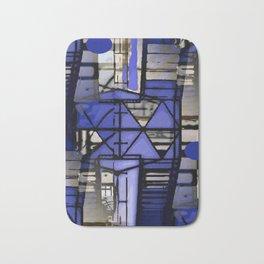 Modern Architecture Bath Mat