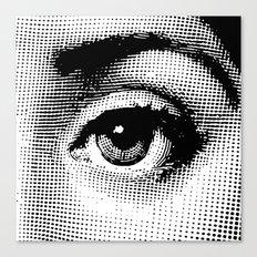 Lina Cavalieri Eye 02 Canvas Print