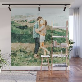 Togetherness #painting Wall Mural