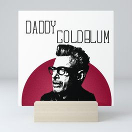 Daddy Goldblum Mini Art Print