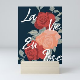 La Vie En Rose Mini Art Print