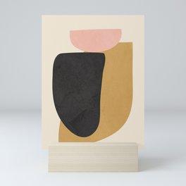 Abstract Shapes 34 Mini Art Print