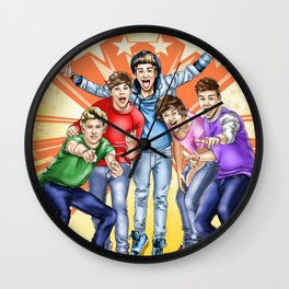 One Direction FAME comic book cover Wall Clock