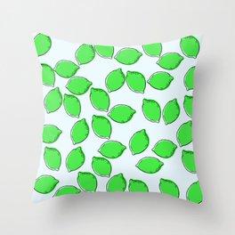 Cute Lime Throw Pillow