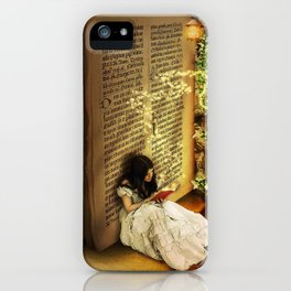 Book of Fantasies iPhone Case