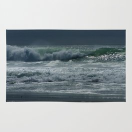 Rolling Waves of Serenity Rug