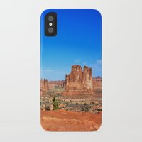 utah iPhone & iPod Cases featuring Monument, Utah by Chris Root