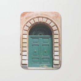 Door in Rome Bath Mat