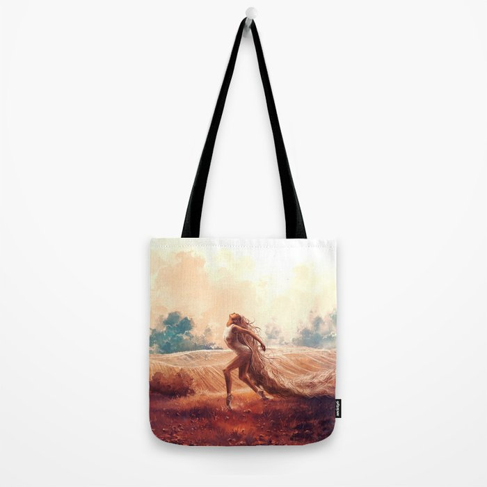 ARIES from the Dancing Zodiac Tote Bag