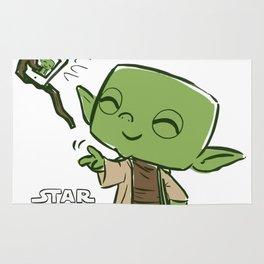 Yoda Selfie Rug