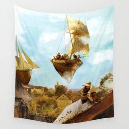 Sky Fishermen Wall Tapestry