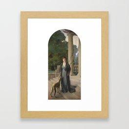 Sir John Lavery, R.A., R.H.A., R.S.A. 1856-1941 BARONES Framed Art Print