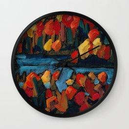 Autumn Foliage / Dennis Weber of ShreddyStudio Wall Clock
