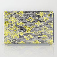 lv iPad Cases featuring LV NEONIZED by JANUARY FROST