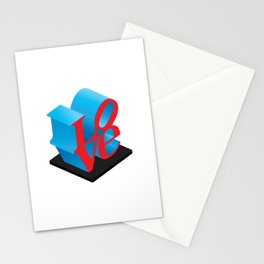 LOVE Sculpture Stationery Cards
