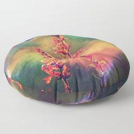 Bee N Wildflowers Diamond Earth Tones Floor Pillow