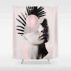 Empty mind Shower Curtain