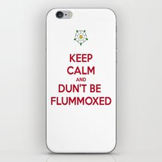 Keep Calm and Dun't Be Flummoxed iPhone & iPod Skin