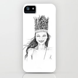 Kate | Fashion Portrait iPhone Case
