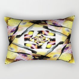 Burnt Rectangular Pillow