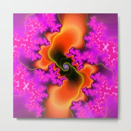 Big Bang Psychedelic Metal Print