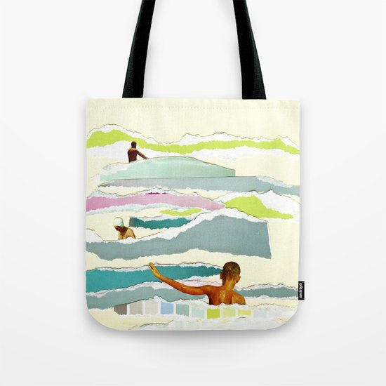 Sun and Surf Tote Bag