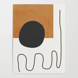 abstract minimal 53 Poster