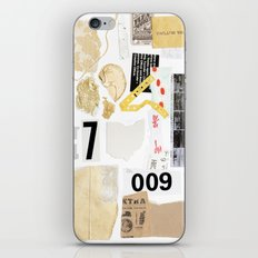 Paper Trail II iPhone & iPod Skin