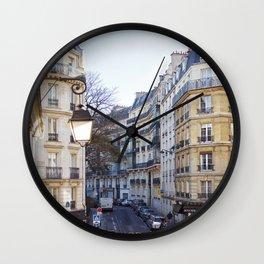 Streets of Paris. Wall Clock