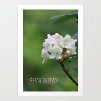 Peace Flower Art Print