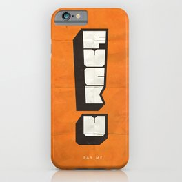 FUPM iPhone Case
