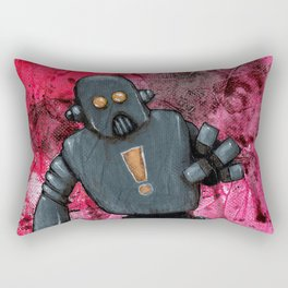 Bue Robot Rectangular Pillow