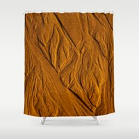 mars Shower Curtains featuring Mars by Ian Bevington