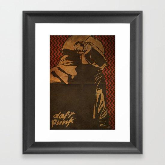 Daft Punk Thomas Bangalter II Framed Art Print