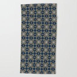 Luxury Spanish Tile - Pattern Beach Towel