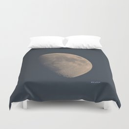 November Half Moon Duvet Cover