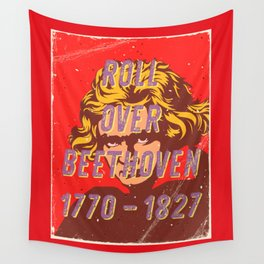 Roll over Beethoven – A Hell Songbook Edition Wall Tapestry