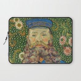 Portrait of the Postman Joseph Roulin by Vincent van Gogh Laptop Sleeve