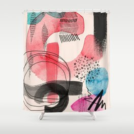 Form Combination P2 Shower Curtain