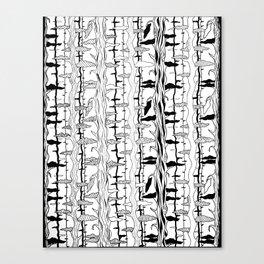 Tree Motif Canvas Print