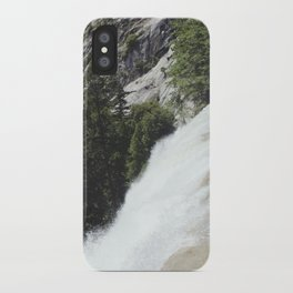 yosemite waterfall iPhone Case