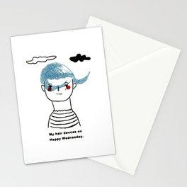 My hairdo Stationery Cards