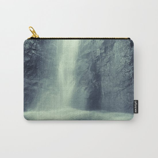 """""""Waterfall at the mountains"""". Retro series Carry-All Pouch"""
