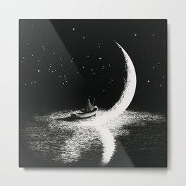 Arrival At Moonlight Metal Print